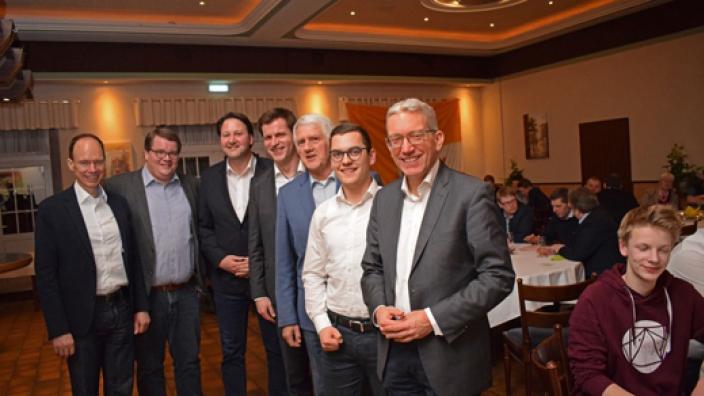 Auffallend viele junge Männer bei der CDU Bad Laer