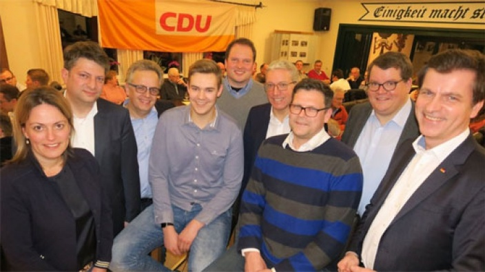 Wurstebrot mit Bad Laerer CDU